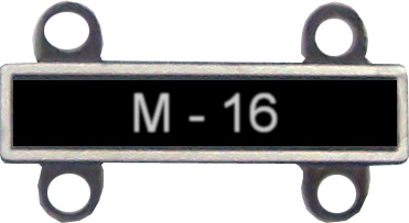 View ARMY  QUALIFICATION BAR M16 (Attach to 16306 or 16307 or 16308)