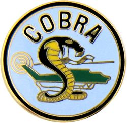 Armed Forces Insignia - COBRA HELICOPTER PIN - MILITARY PINS