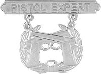 View PISTOL EXPERTMARINE CORPS PIN BADGE
