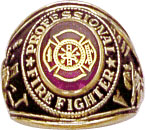 View PROFESSIONAL FIRE FIGHTER RING