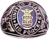 View USAF AIR FORCE RING