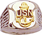 View USN UNITED STATES NAVY RING
