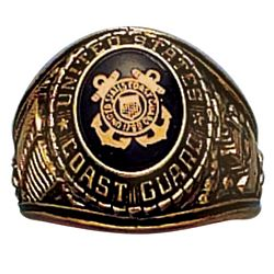 View USCG COAST GUARD RING