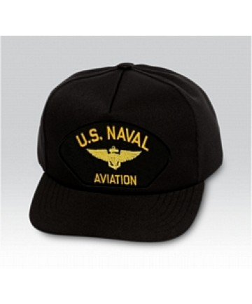 Armed Forces Insignia - US Naval Aviation Insignia Black Ball Cap (Made in  USA) - Military Ball Caps   Navy Ball Caps cd7750feccf