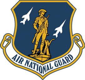 View AIR NATIONAL GUARD MAGNET