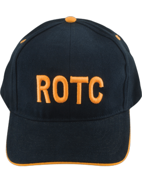 View Ball Cap ROTC in Gold Letters