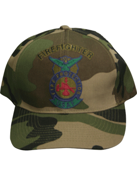 View Ball Cap USAF Air Force Camo with Fire Protection  Firefighter