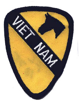 View 1ST CAVALRY VIETNAM VIET NAM PATCH