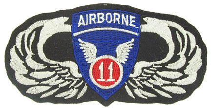 View 11TH AIRBORNE WINGS PATCH