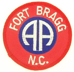 View 82ND AIRBORNE  FORT FT. BRAGG N.C. PATCH