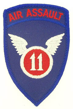 View 11TH AIR ASSAULT WINGS PATCH