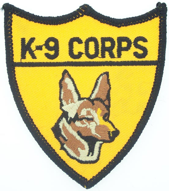 View K9 CORPS DOG TRAINER PATCH