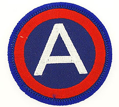 View 3RD ARMY A PATCH
