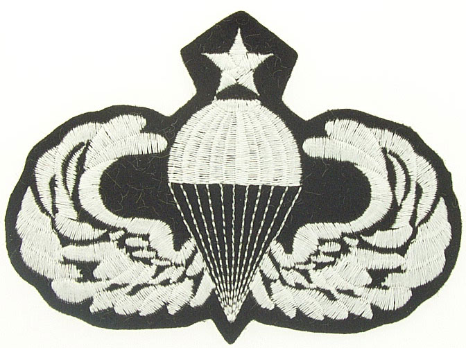 View SENIOR PARATROOPER PATCH
