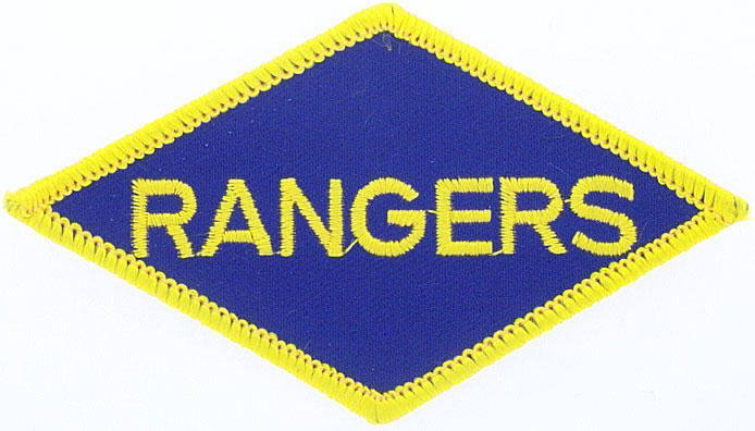 View ARMY RANGERS PATCH