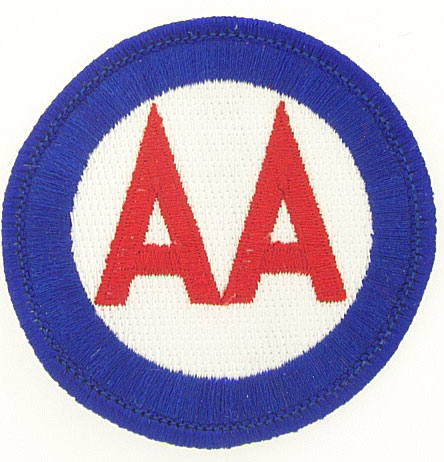 View ANTI AIRCRAFT COMMAND PATCH