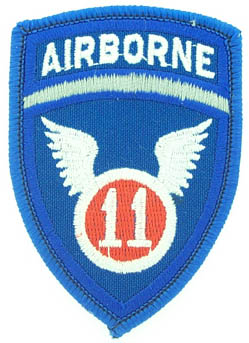 View 11TH AIRBORNE DIVISION WINGS PATCH