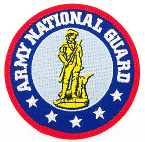View ARMY NATIONAL GUARD PATCH