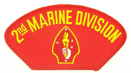 View 2ND MARINE DIVISION MARINE CORPS RED PATCH