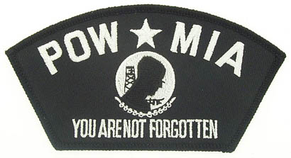 View POW MIA PATCH YOU ARE NOT FORGOTTEN
