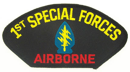 View 1ST SPECIAL FORCES AIRBORNE PATCH