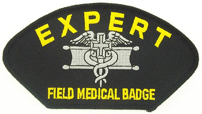 View EXPERT FIELD MEDIC FIELD MEDICAL BADGE PATCH