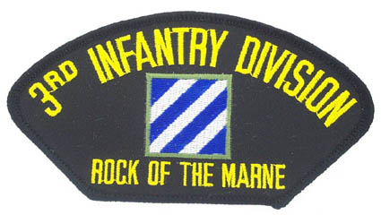 View 3RD INFANTRY DIVISION MARINE CORPS PATCH ROCK OF THE MARNE
