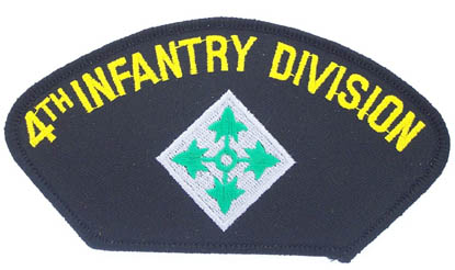 View 4TH INFANTRY DIVISION PATCH
