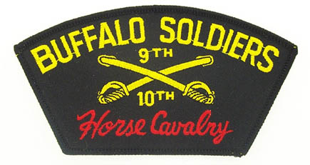 View BUFFALO SOLDIERS  HORSE CAVALRY PATCH