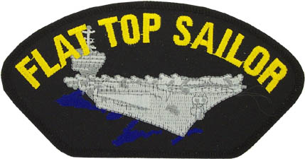 View FLAT TOP SAILOR CARRIER PATCH