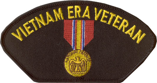View VIETNAM ERA VETERAN PATCH WITH MEDAL
