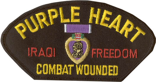 View PURPLE HEART IRAQI FREEDOM PATCH