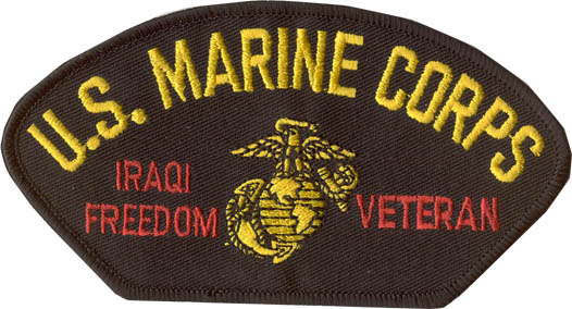View US MARINE CORPS USMC IRAQI FREEDOM VETERAN PATCH