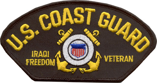 View USCG US COAST GUARD IRAQI FREEDOM VETERAN PATCH