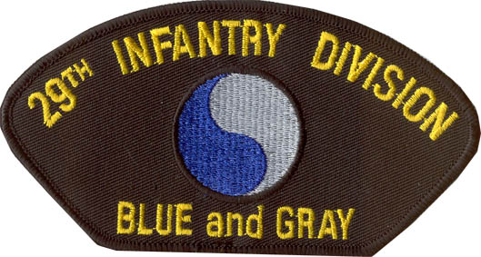 View 29TH INFANTRY DIVISION PATCH BLUE AND GRAY YIN AND YANG