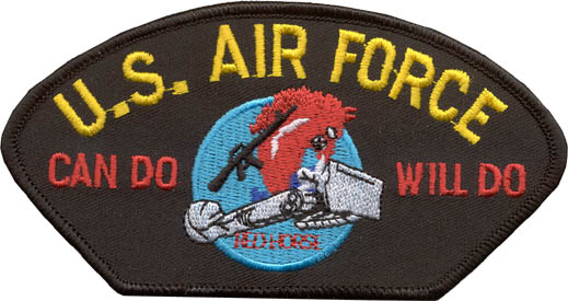 View US AIR FORCE CHARGING CHARLIE PATCH
