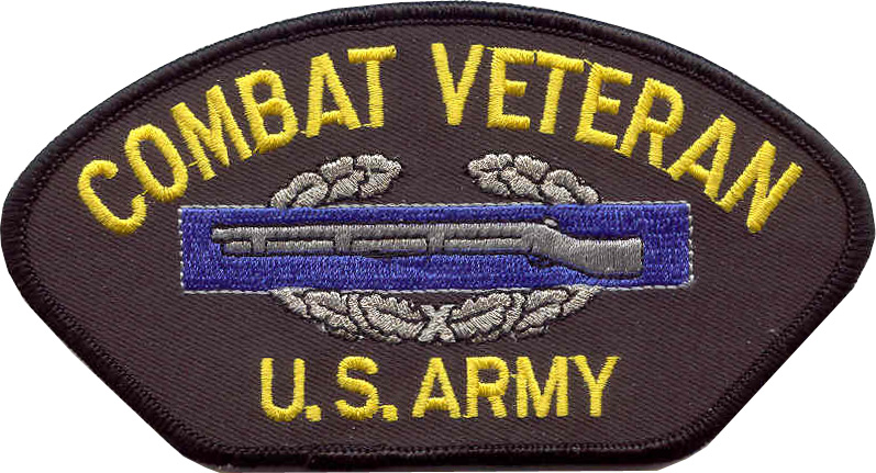 View COMBAT CIB VETERAN US ARMY PATCH