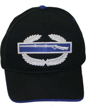 View Army Ball Cap Combat Infantry Badge (3D)