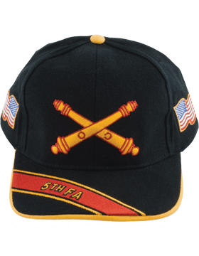 View Army Ball Cap 5th Field Artillery Branch Of Service