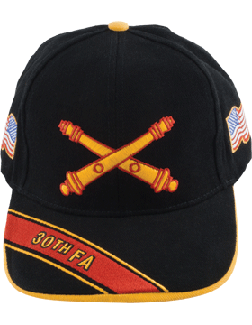View Army Ball Cap 30th Field Artillery Branch Of Service