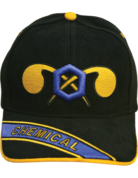 View  Ball Cap Army Chemical Branch Of Service Embroidered Bill  (More added Daily) (Top Quality) (Click on Pic)