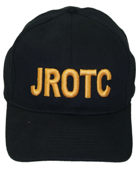 View Ball Cap JROTC in Gold Letters
