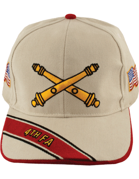 View Army Ball Cap 4th Field Artillery Branch Of Service