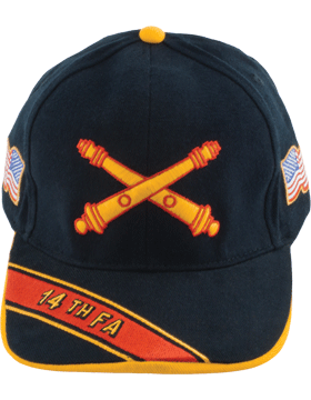 View Army Ball Cap 14th Field Artillery Branch Of Service