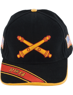 View Army Ball Cap 17th Field Artillery Branch Of Service