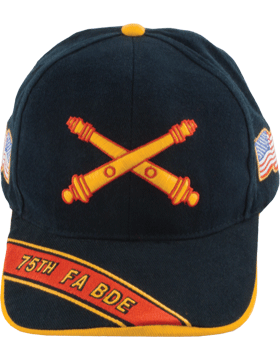 View Army Ball Cap 75th Field Artillery Brigade Branch Of Service