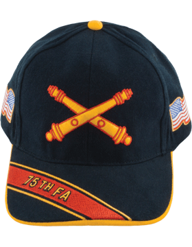 View Army Ball Cap 75th Field Artillery Branch Of Service