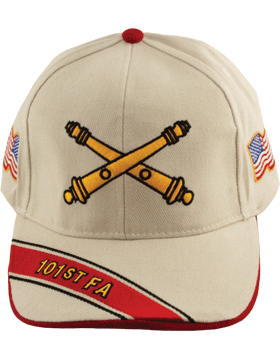 View Army Ball Cap 101st Field Artillery Branch Of Service