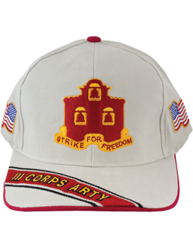 View Army Ball Cap 3rd Corps Artillery