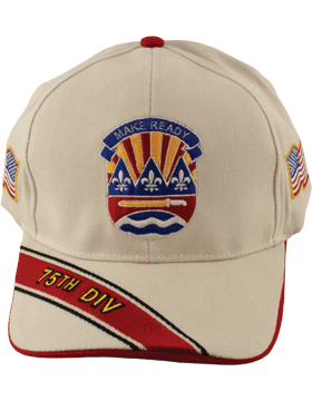 View Army Ball Cap 75th Infantry Division
